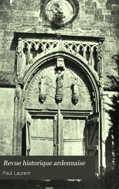 Revue historique ardennaise: Volume13