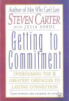 Getting to Commitment PDF