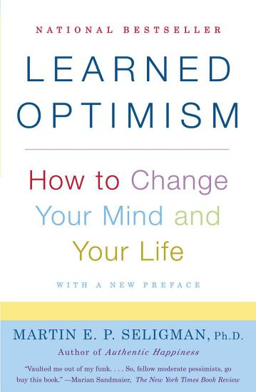 Learned Optimism PDF