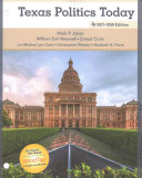 Texas Politics Today 2017 2018   MindTap Political Science Access Card PDF