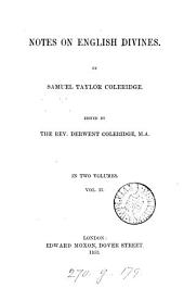 Notes on English divines, ed. by D. Coleridge
