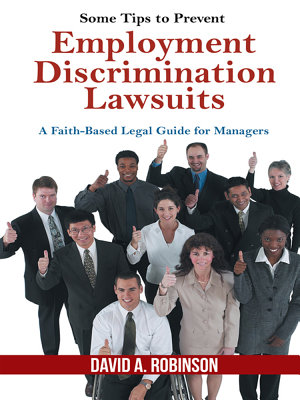 Some Tips to Prevent Employment Discrimination Lawsuits PDF