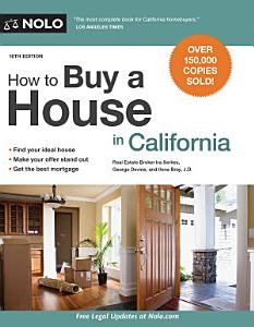 How to Buy a House in California Book