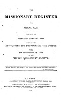 The Missionary Register     PDF