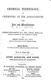 Chemical Technology: Volume 1, Part 3