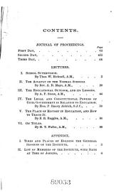 Lectures, Discussions, and Proceedings ...: Volume 48