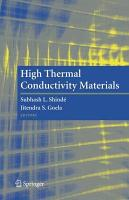 High Thermal Conductivity Materials PDF