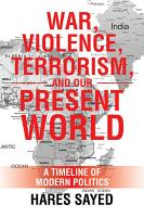 War  Violence  Terrorism  and Our Present World PDF