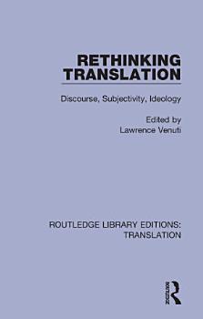 Rethinking Translation PDF