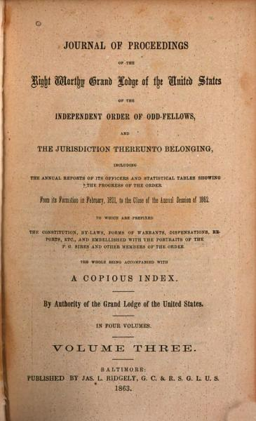 Journal Of Proceedingsincluding The Annual Reports Of Its Officers And Statistical Tables From 1821to 1862