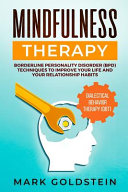 Mindfulness Therapy Book