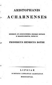 Aristophanes Acharnenses
