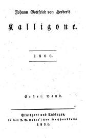 Saemmtliche Werke: Zur Philosophie und Geschichte : Th. 18, Kalligone 1800 ; Bd. 1, Volume 3, Issue 18