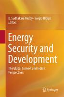 Energy Security and Development PDF