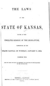 General Laws of the State of Kansas
