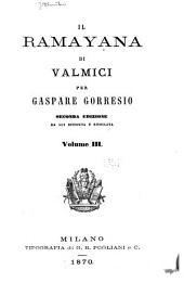 Il Ramayana di Valmici: Volume 3