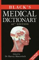 Black s Medical Dictionary PDF