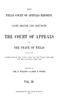 The Texas Court of Appeals Reports PDF