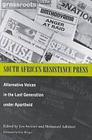 South Africa s Resistance Press PDF