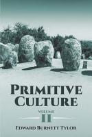 Primitive Culture  Volume II PDF
