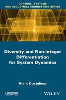 Diversity and Non integer Differentiation for System Dynamics PDF