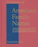 Dictionary of American Family Names  G N PDF