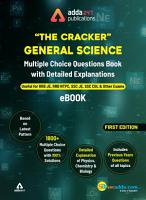 The Cracker General Science MCQ eBook for RRB JE  NTPC  SSC and other Exams 2019 English Edition PDF