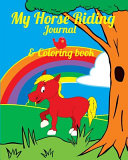 My Horse Riding Journal   Coloring Book PDF