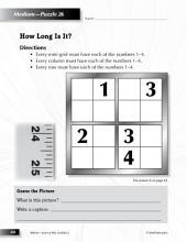 Grade 2 Medium Sudoku Puzzles 26–30