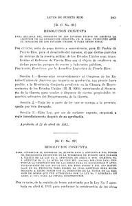 Acts of the Legislature of Puerto Rico PDF