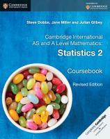 Cambridge International AS and A Level Mathematics  Statistics 2 Coursebook PDF