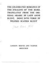The Celebrated Romance of the Stealing of the Mare