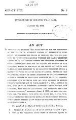 Senate Bills, Original and Amended
