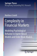 Complexity in Financial Markets