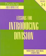 Lessons for Introducing Division