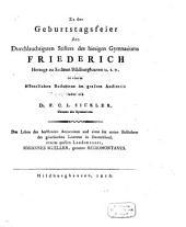 Leben des berühmten Astronomen ... Johannes Müller, genannt Regiomontanus