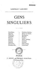 Gens singuliers