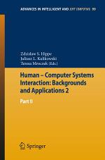 Human – Computer Systems Interaction: Backgrounds and Applications 2