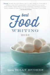Best Food Writing 2013