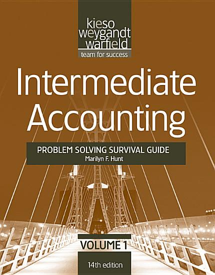 Intermediate Accounting    Problem Solving Survival Guide PDF