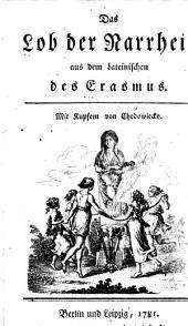 Das Lob der Narrheit: aus dem Lateinischen