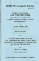 Music  the Brain  and Music Learning PDF