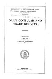 Daily Consular and Trade Reports: Issues 154-230