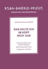 Das halte ich im Kopf nich' aus: Gottlieb Wendehals auf Master