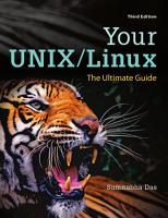 Your UNIX Linux  The Ultimate Guide PDF