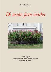 Di acuto fiero morbo: Trenta lapidi del cimitero di Sant'Angelo sul Sile (coperte di rose)