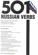 Five Hundred and One Russian Verbs PDF