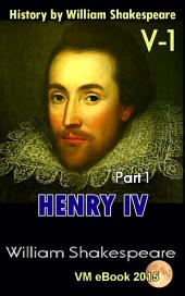 Henry IV, part 1: History by William Shakespeare