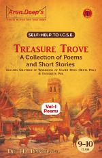 Self-Help To Treasure Trove A Collection of Poems (Volume-I) For Classes 9 and 10