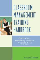 Classroom Management Training Handbook PDF